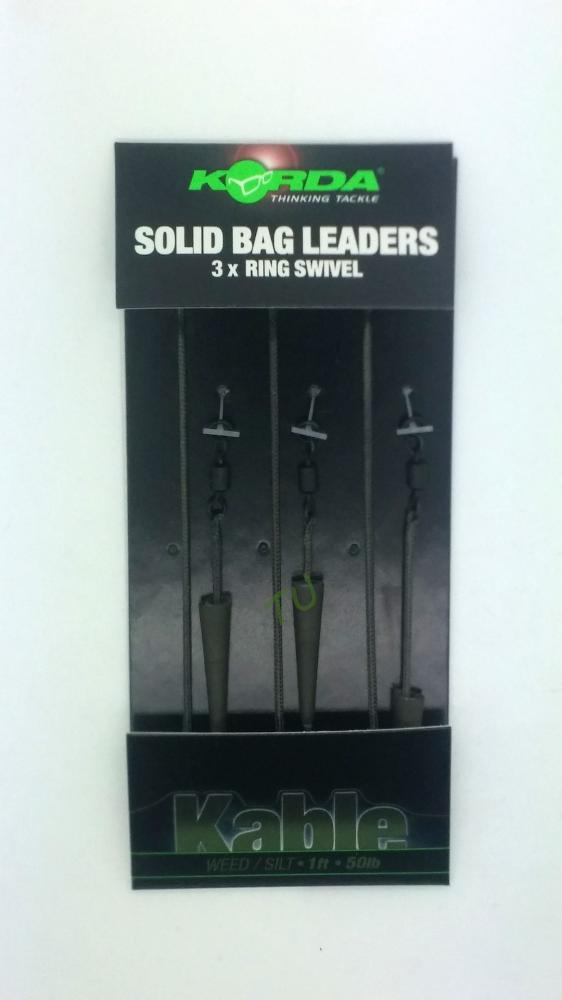 Korda Solidz PVA Solid Bag Leaders KPVALL
