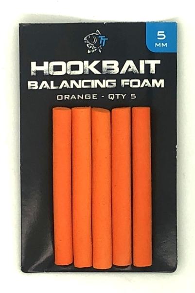 Orange Yellow Hook Bait Balancing Foam Brown Black 5mm Beige